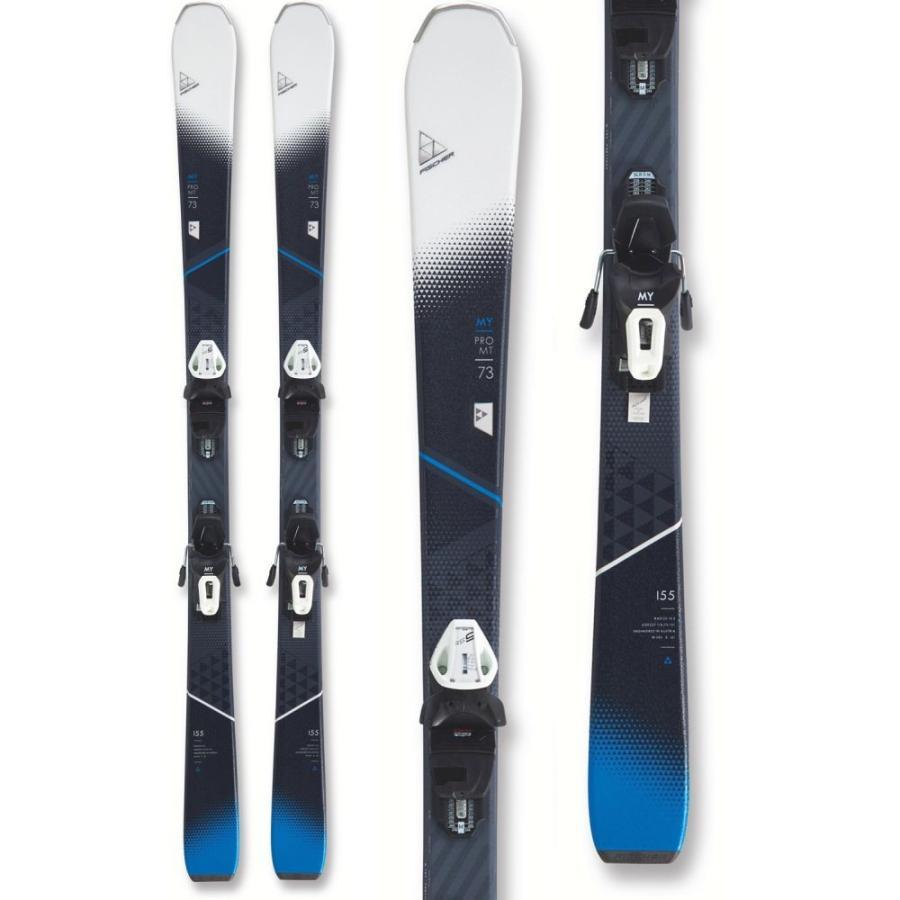 フィッシャー Fischer レディース スキー・スノーボード ボード・板 My Pro MTN 73 Skis w/ My RS9 GW SLR Womentrack Bindings