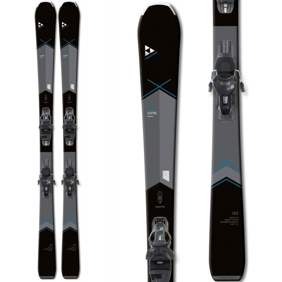 フィッシャー Fischer レディース スキー・スノーボード ビンディング My Aspire Skis w/ My RS9 GW SLR/Track Bindings 2020