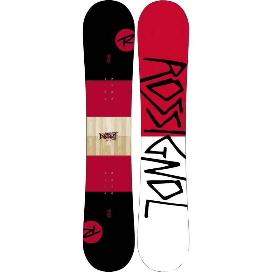 ロシニョール Rossignol メンズ スキー・スノーボード ボード・板 District Wide Snowboard 2019 黒/赤