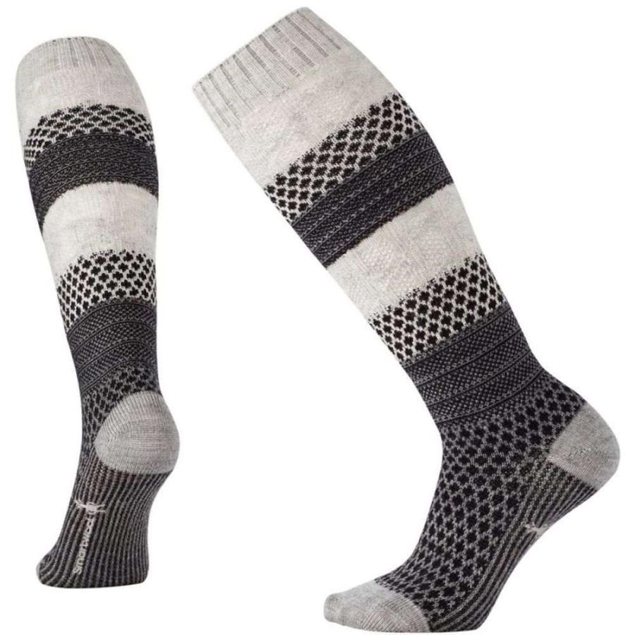 スマートウール Smartwool レディース スキー・スノーボード ソックス Popcorn Cable Knee-High Socks Winter 白い Donegal