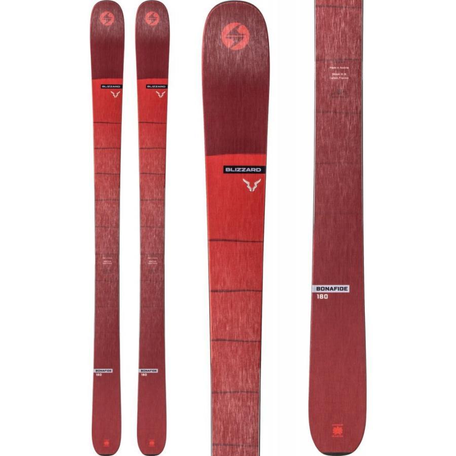 ブリザード Blizzard メンズ スキー・スノーボード ボード・板 Bonafide Skis 2020 赤