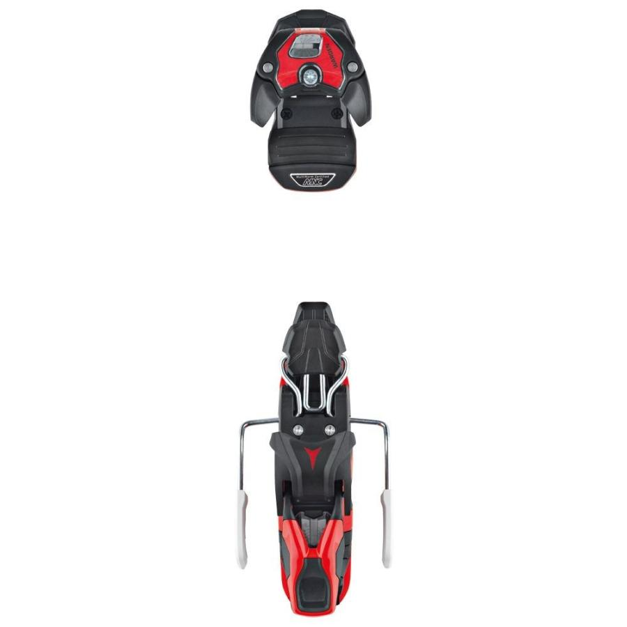 アトミック Atomic レディース ビンディング スキー・スノーボード Warden MNC 11 Ski Bindings 2019 黒/赤