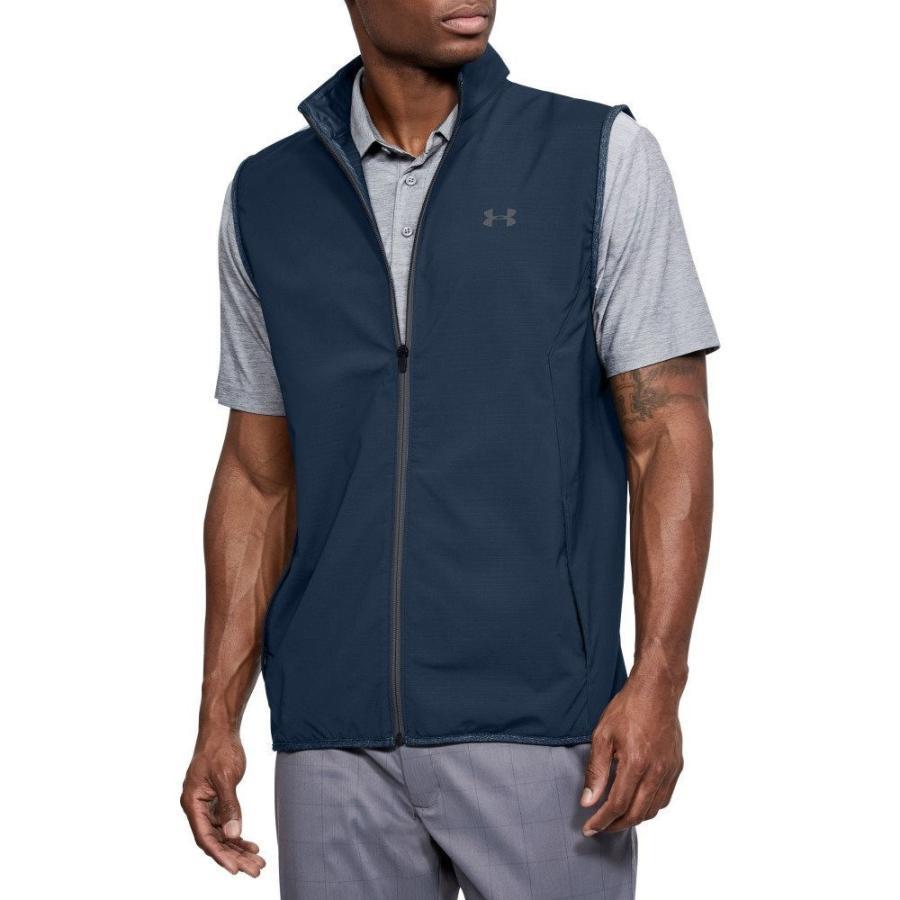 【残り1点!】【サイズ:L】アンダーアーマー Under Armour メンズ ゴルフ トップス Windstrike Golf Vest