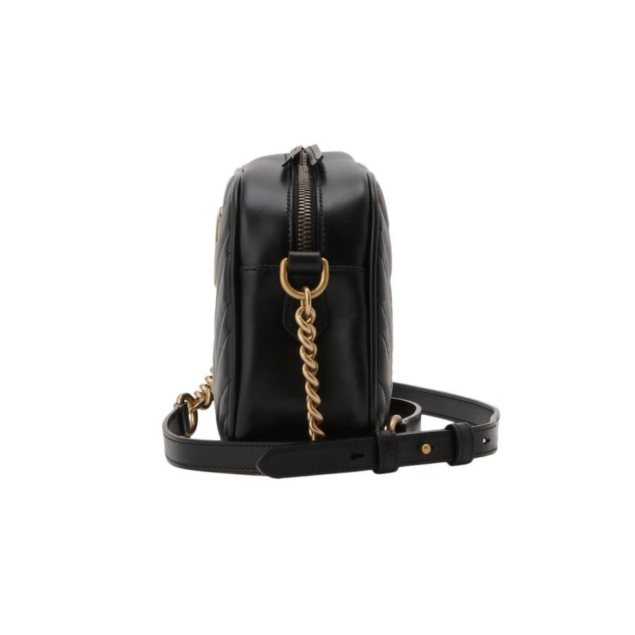 【即納】グッチ Gucci レディース ショルダーバッグ バッグ GG Marmont 2.0 447632 DTD1T 1000 BLACK GGマーモント キルティング クロスボディ fermart3-store 03
