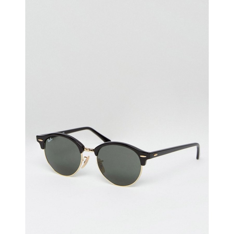 最高品質の レイバン Ray-Ban ユニセックス メガネ・サングラス ラウンド Ray-Ban Clubmaster Clubmaster round ユニセックス sunglasses 0rb4246 ブラック, 収納家具のイーユニット:8746a2b6 --- grafis.com.tr