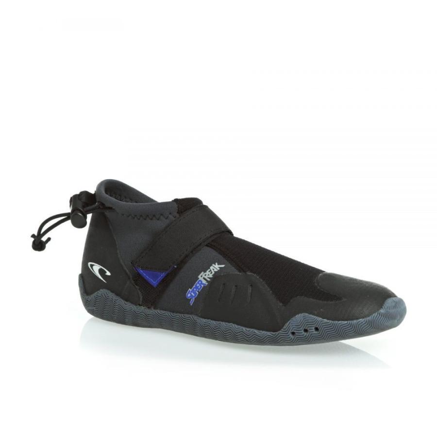 オニール O Neill ユニセックス サーフィン Superfreak Tropical Round Toe Wetsuit Boots 黒