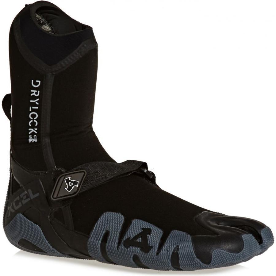 エクセル Xcel ユニセックス サーフィン Drylock 5mm Split Toe Wetsuit Boots 黒 グレー