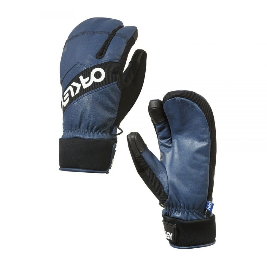 オークリー Oakley メンズ グローブ スキー・スノーボード Factory Winter Trigger 2 Snow Gloves 青