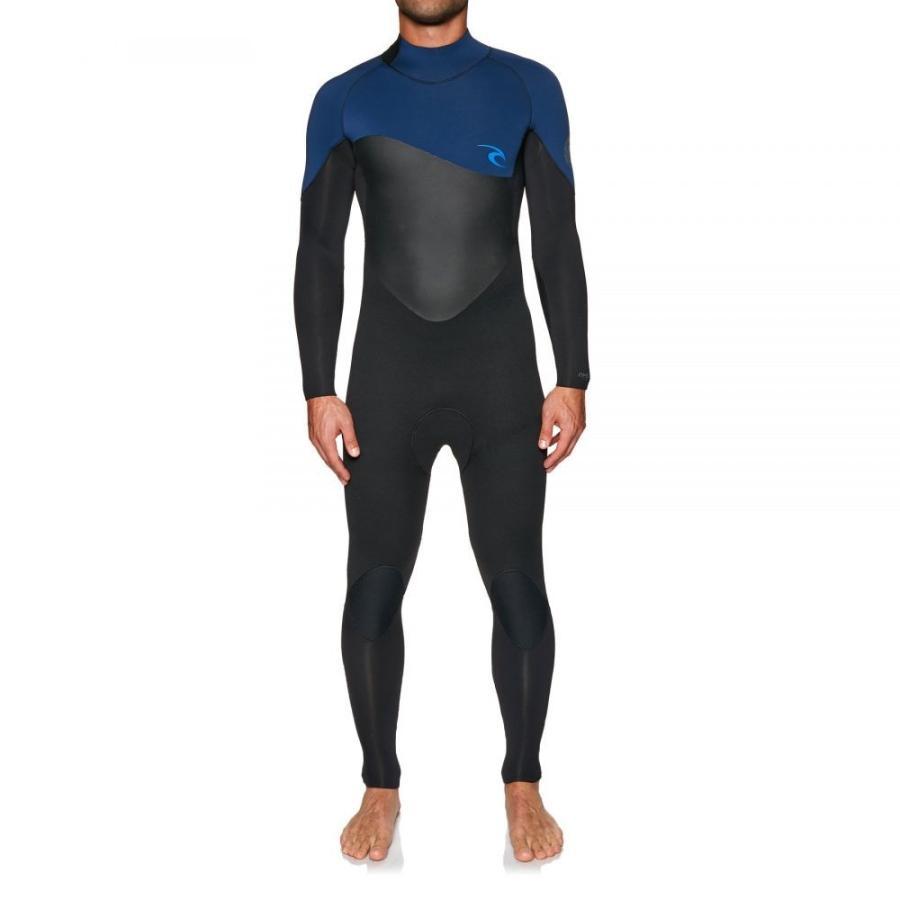 超爆安 リップカール Rip Curl メンズ ウェットスーツ 水着・ビーチウェア omega 4/3mm back zip wetsuit Navy, ミヨタマチ ec62f825