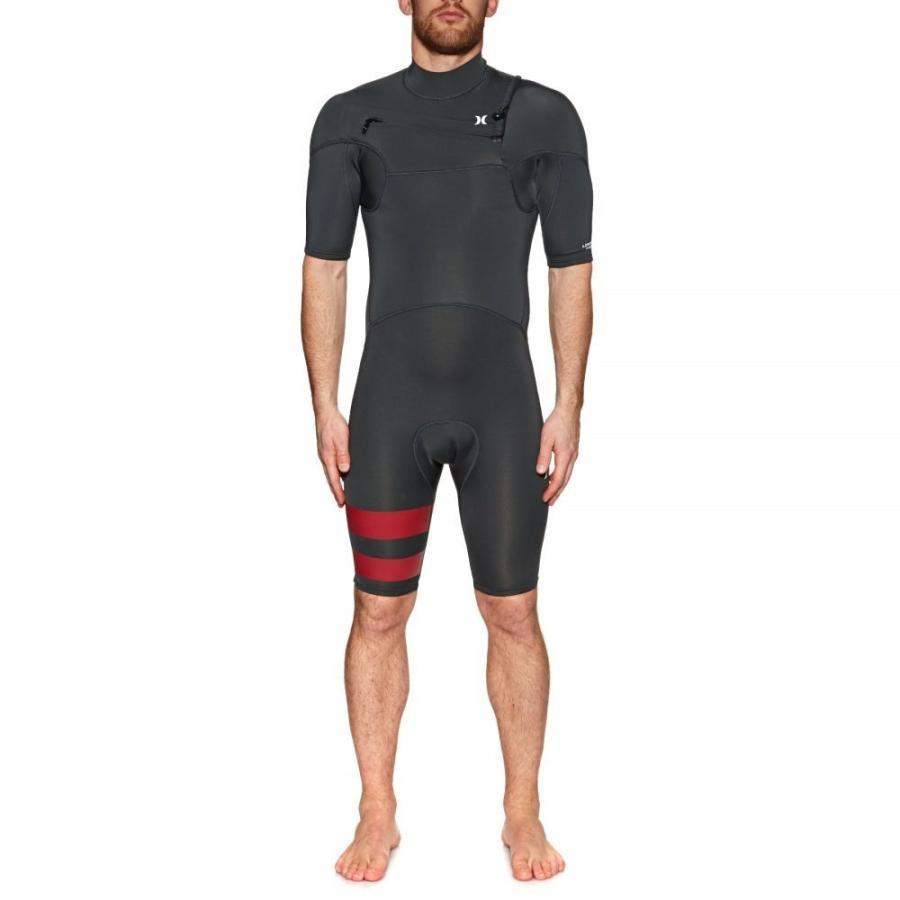 【お買得】 ハーレー Hurley メンズ ウェットスーツ 水着 ウェットスーツ メンズ・ビーチウェア Advantage Plus 2mm Hurley 2019 Chest Zip Shorty Wetsuit Anthracite, PARTYMIX:73a32e62 --- airmodconsu.dominiotemporario.com