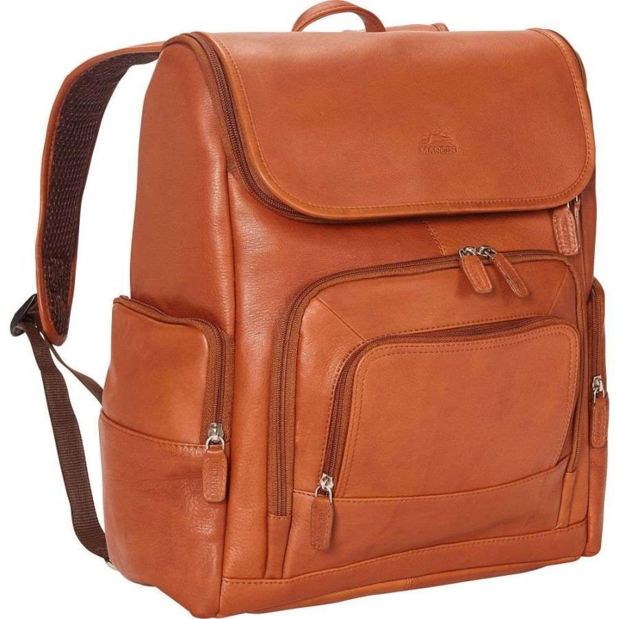 有名ブランド メンシーニレザーグッズ Mancini Leather Goods メンズ パソコンバッグ バックパック バッグ Columbian 15.6