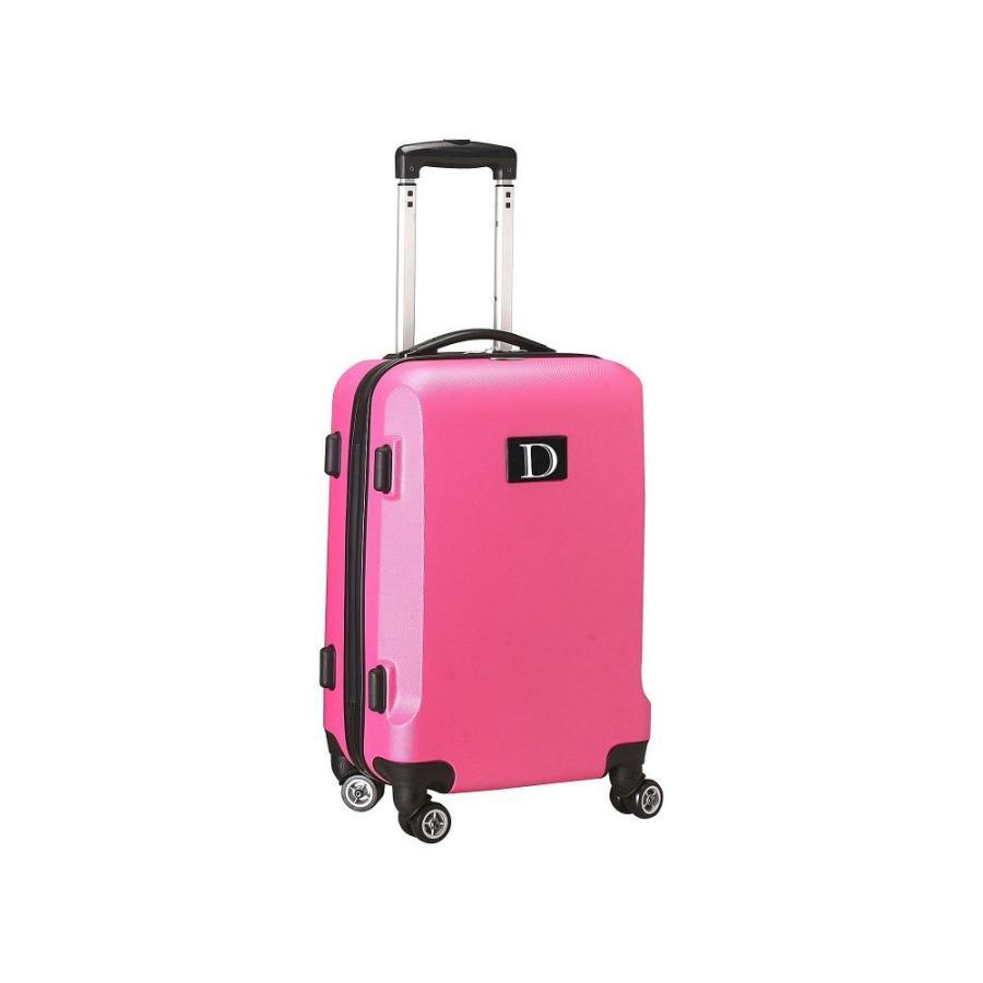 直送商品 モジョ Mojo Licensing レディース スーツケース・キャリーバッグ ハードサイド バッグ D Initial 21' Hardside Carry-On Spinner Luggage Pink, MIZUSHIMA SELECT 03408a8a