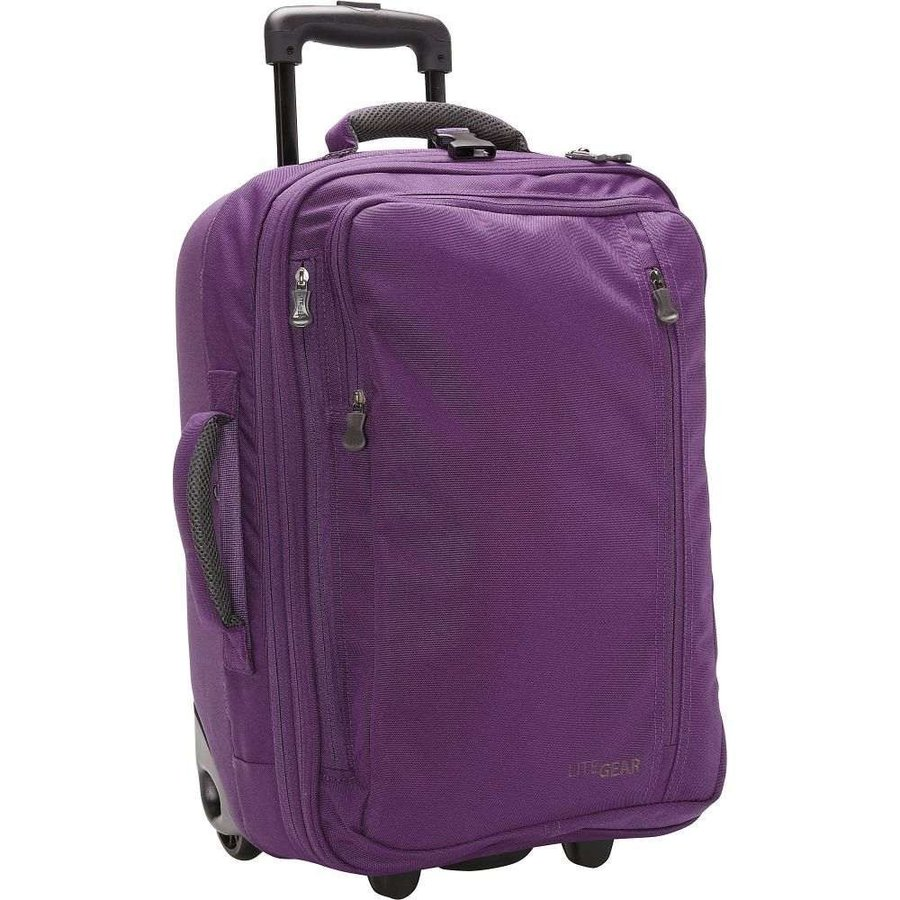 ライトギア LiteGear レディース スーツケース・キャリーバッグ バッグ 20' Hybrid Carry-On 紫の