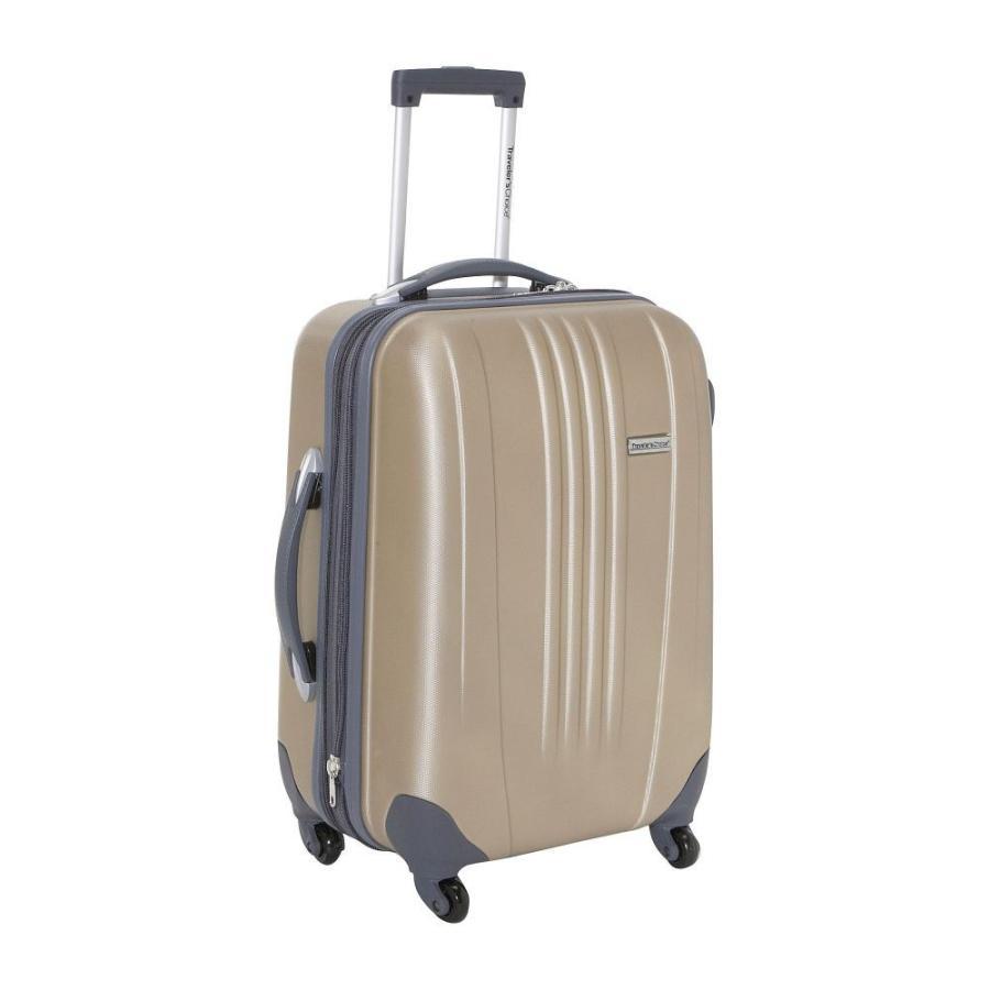 トラベラーズチョイス Traveler's Choice レディース スーツケース・キャリーバッグ ハードサイド Toronto 21 in. Expandable Hardside Spinner Luggage ゴールド