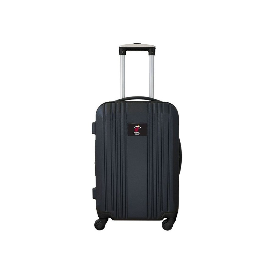 モジョ Mojo Licensing レディース スーツケース・キャリーバッグ ハードサイド バッグ NBA 21' Hardside Two-Tone Carry-On Spinner Luggage Miami Heat
