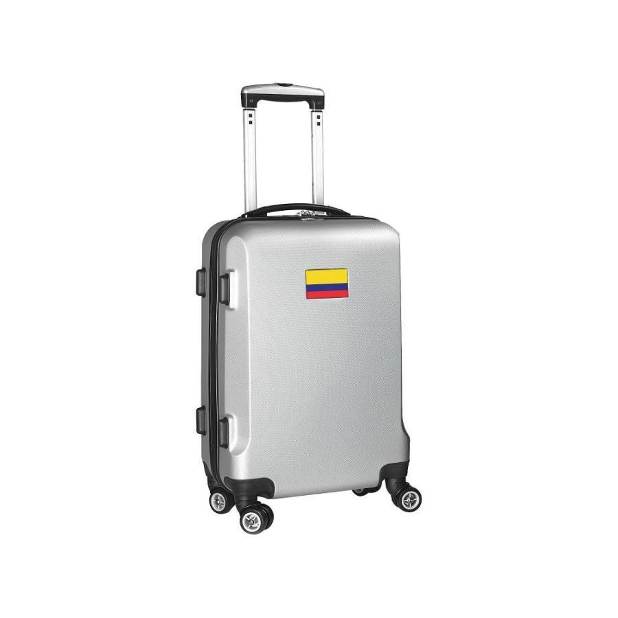 【新品】 モジョ Mojo Licensing レディース スーツケース・キャリーバッグ ハードサイド バッグ Flag 21' Hardside Carry-On Spinner Luggage Columbia, 最新最全の 6c89f902