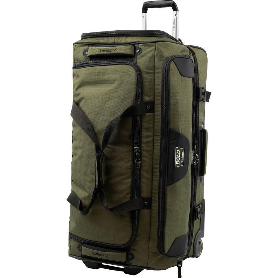 トラベルプロ Travelpro メンズ スーツケース・キャリーバッグ バッグ Bold 30' Rolling Duffle Olive