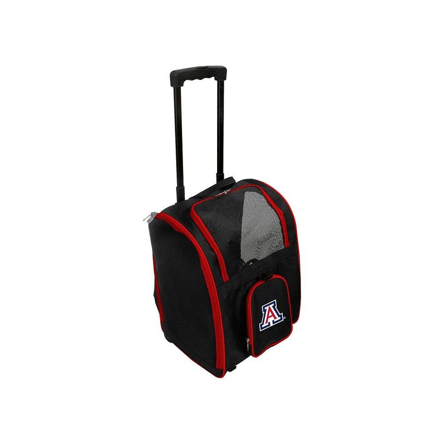 モジョ Mojo Licensing メンズ スーツケース・キャリーバッグ バッグ NCAA Wheeled 16' Premium Pet Carrier Arizona Wildcats