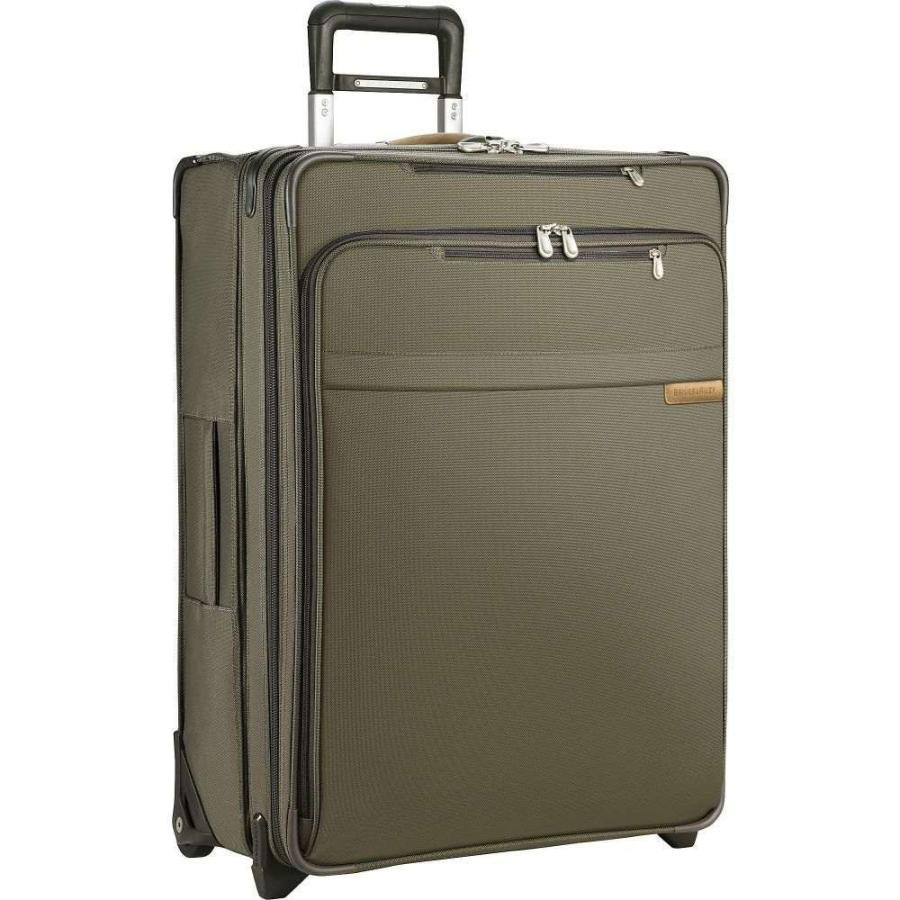 ブリッグスアンドライリー Briggs & Riley メンズ スーツケース・キャリーバッグ バッグ Baseline Large Exp. Upright Olive