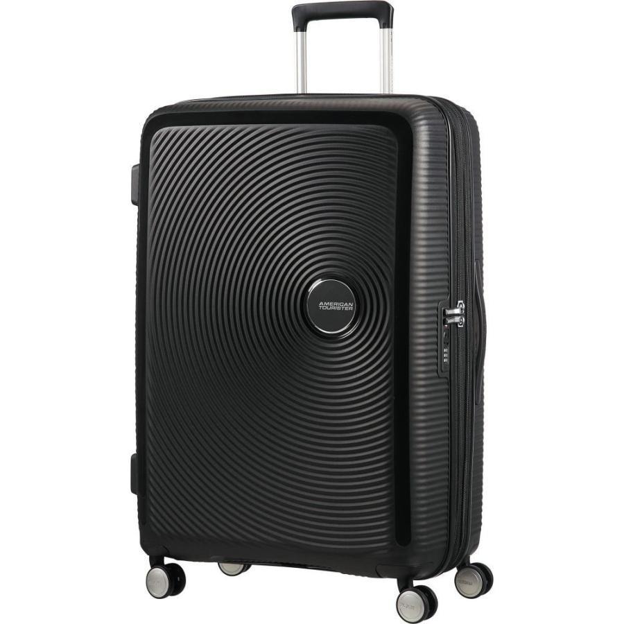 アメリカンツーリスター American Tourister メンズ スーツケース・キャリーバッグ バッグ Curio 29' Hardside Checked Spinner Luggage Black
