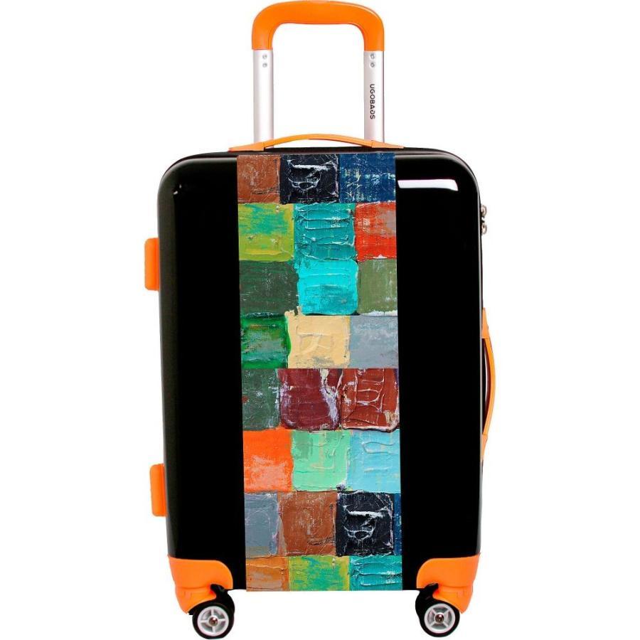 ユーゴバッグス Ugobags レディース スーツケース・キャリーバッグ バッグ Kaleidoscope To Paris By Irena Orlov 26.5' Luggage Black