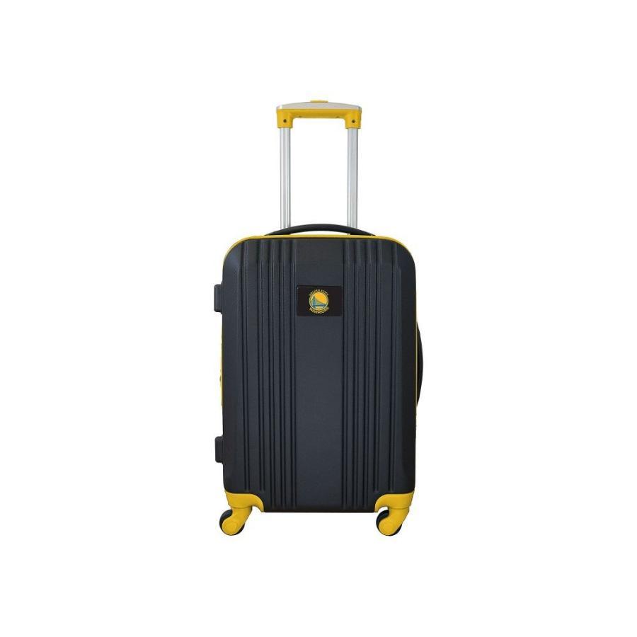 モジョ Mojo Licensing レディース スーツケース・キャリーバッグ ハードサイド NBA 21' Hardside Two-Tone Carry-On Spinner Luggage Golden State Warriors