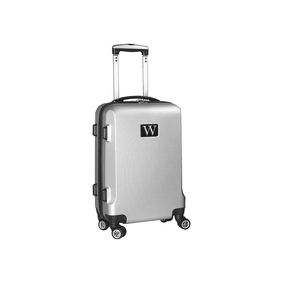 モジョ Mojo Licensing メンズ スーツケース・キャリーバッグ バッグ W Initial 21' Hardside Carry-On Spinner Luggage Silver