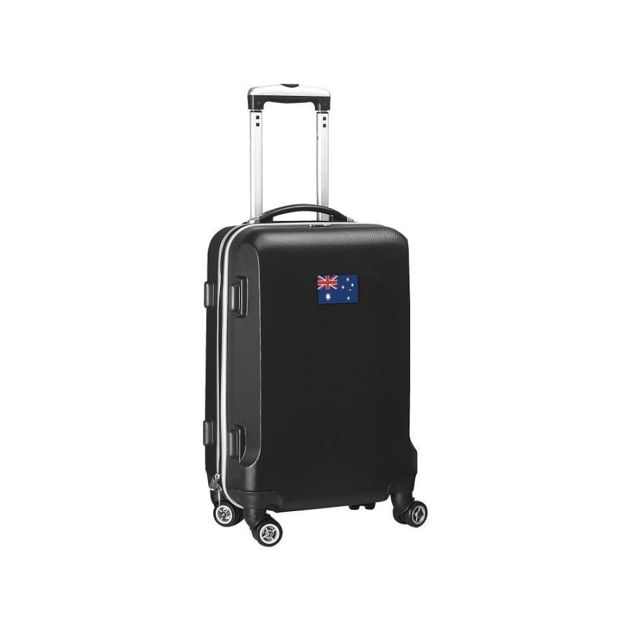 人気商品の モジョ Mojo Licensing レディース スーツケース・キャリーバッグ ハードサイド バッグ Flag 21' Hardside Carry-On Spinner Luggage Australia, 川里町 291927aa