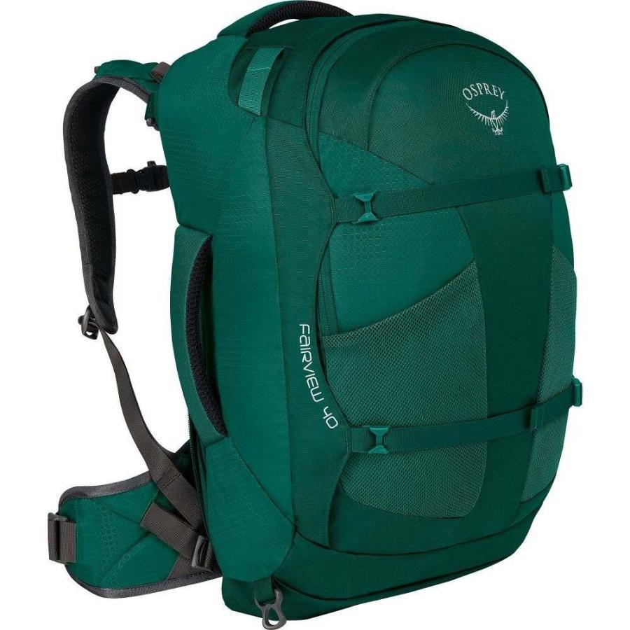 【現金特価】 オスプレー Travel Osprey レディース バックパック Green・リュック バッグ Fairview 40L Rainforest Travel Backpack Rainforest Green XS/S, 岩槻市:d8cc42e2 --- graanic.com