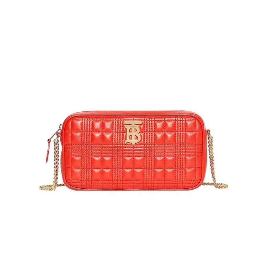 【2018最新作】 バーバリー Burberry Check レディース Camera バッグ カメラバッグ Small Burberry Leather Quilted Check Elongated Camera Bag Bright Red, パケ ドゥ ソレイユ:bc73b3ae --- sonpurmela.online