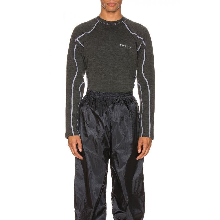 超安い ゲーエムベーハー GmbH メンズ ラッシュガード 水着・ビーチウェア Long Sleeve メンズ Sleeve Rash Jersey Guard Print Jersey Grey, マイナビストア ギフト専門店:50328c4c --- airmodconsu.dominiotemporario.com