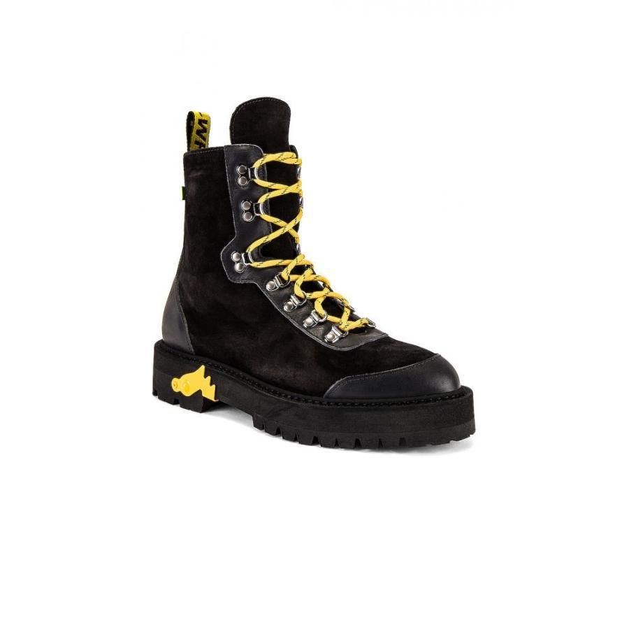 オフ-ホワイト OFF-WHITE メンズ シューズ・靴 ハイキング・登山 Hiking Boot Black