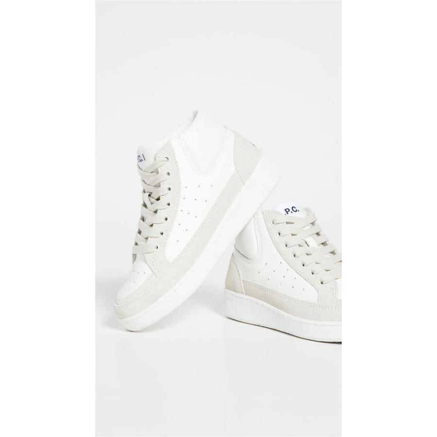 アーペーセー A.P.C. レディース ランニング·ウォーキング スニーカー シューズ·靴 Jack Running Sneakers Blanc