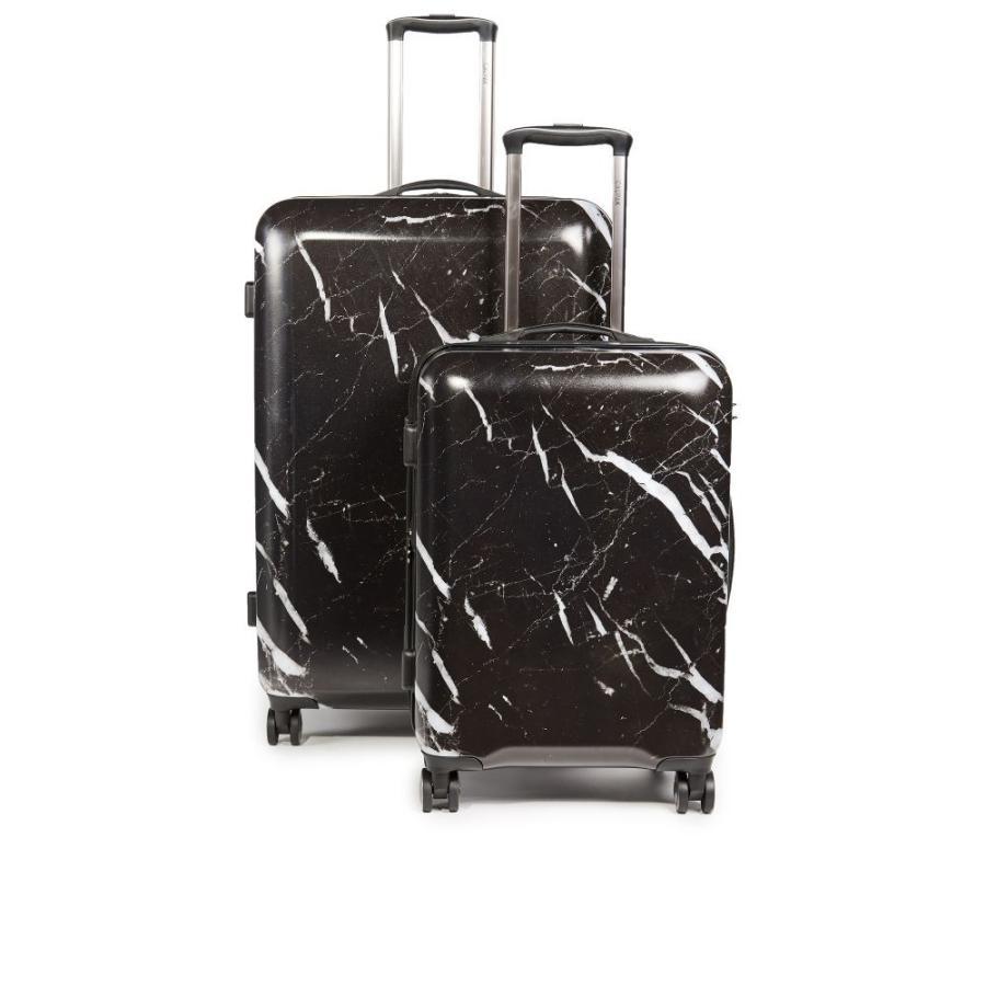 カルパック CALPAK レディース スーツケース・キャリーバッグ 2点セット バッグ Astyll 2 Piece Set Midnight Marble