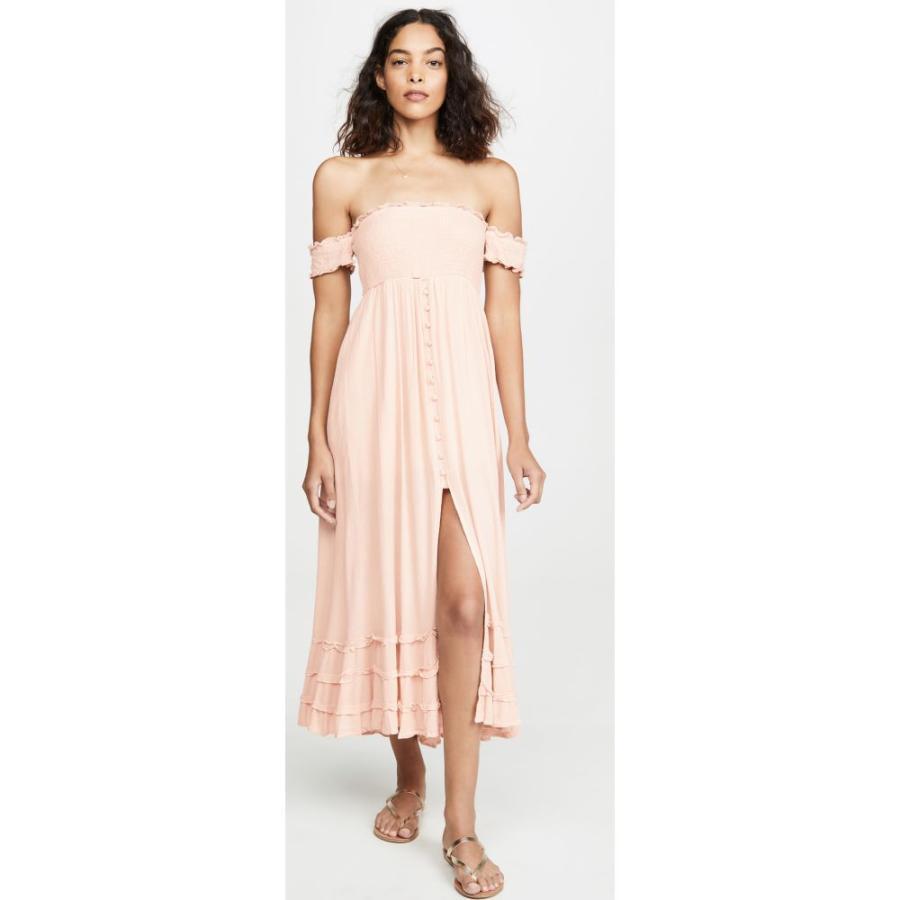 ピリキュー PilyQ レディース ビーチウェア ワンピース・ドレス 水着・ビーチウェア Mishell Dress ピンク Sand