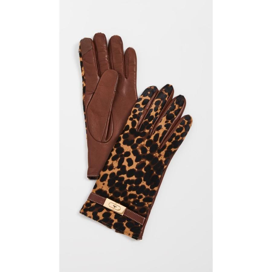 トリー バーチ Tory Burch レディース 手袋·グローブ Leopard Lee Lock Gloves Barbados Leopard