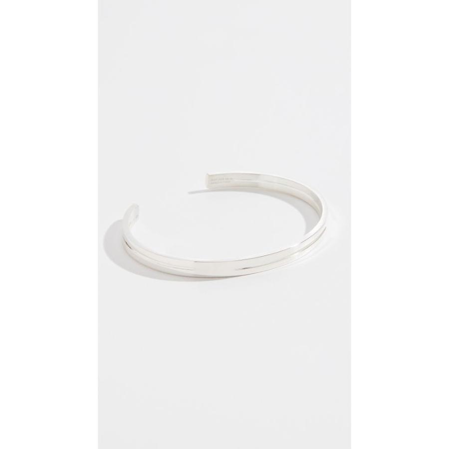 【日本産】 ルグラム Le Gramme メンズ ブレスレット ジュエリー・アクセサリー 13g Punched Ribbon Polished Silver, H&B b32b696a