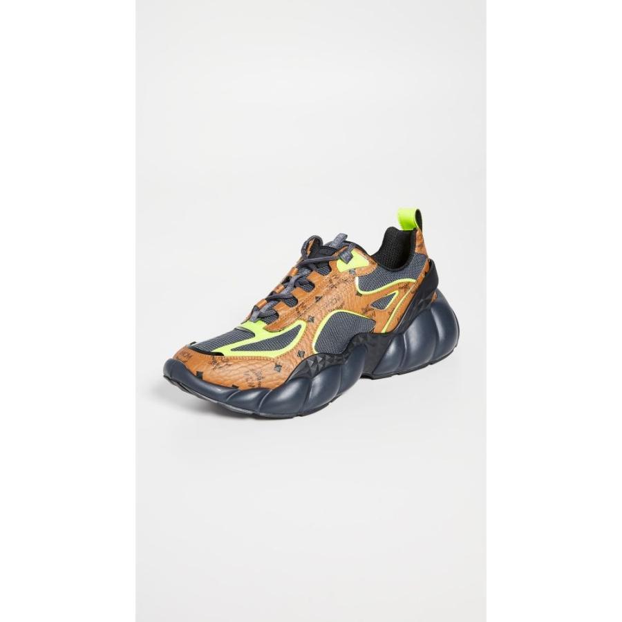 ホットセール エムシーエム エムシーエム MCM メンズ スニーカー シューズ メンズ・靴 Himmel Cognac Sneakers Cognac, 秘密基地R:7b29843a --- levelprosales.com
