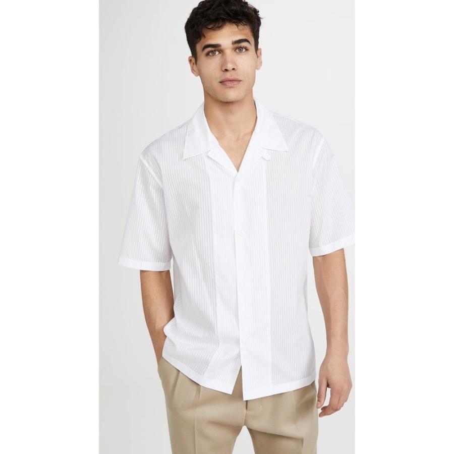 【ふるさと割】 メゾン マルジェラ Maison Margiela White メンズ Off 半袖シャツ Margiela トップス Short Sleeve Shirt Off White, 工芸おかや:9a3d0bb7 --- grafis.com.tr