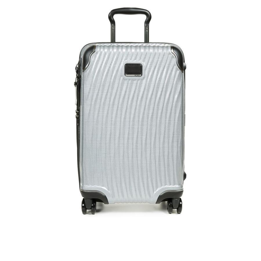 トゥミ メンズ スーツケース・キャリーバッグ バッグ Latitude International Carry On Suitcase Silver