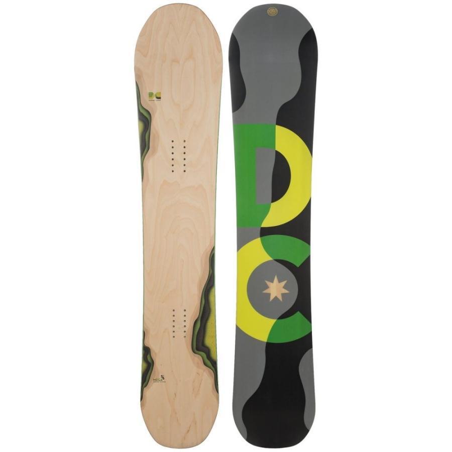 ディーシー DC Shoes ユニセックス スキー・スノーボード ボード・板 Mega Snowboard Woodgrain W/Neon 緑/黄/黒/グレー Logo