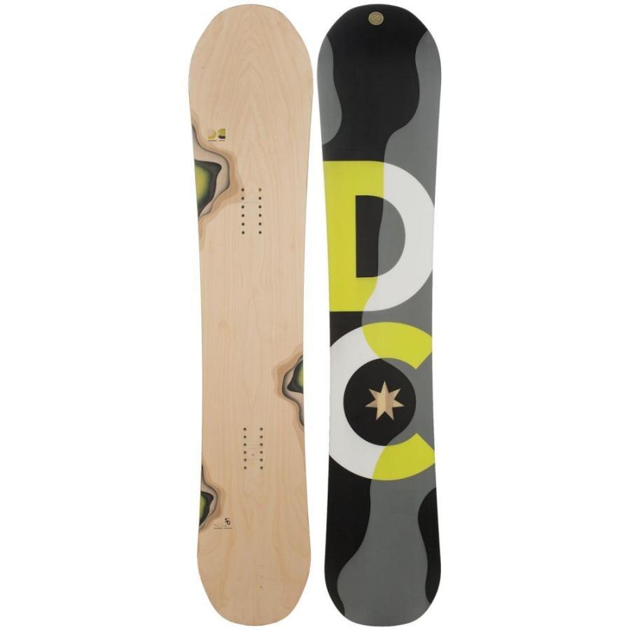 ディーシー DC Shoes ユニセックス スキー・スノーボード ボード・板 Mega Snowboard Woodgrain W/黒/グレー/白い/Neon 黄 Logo