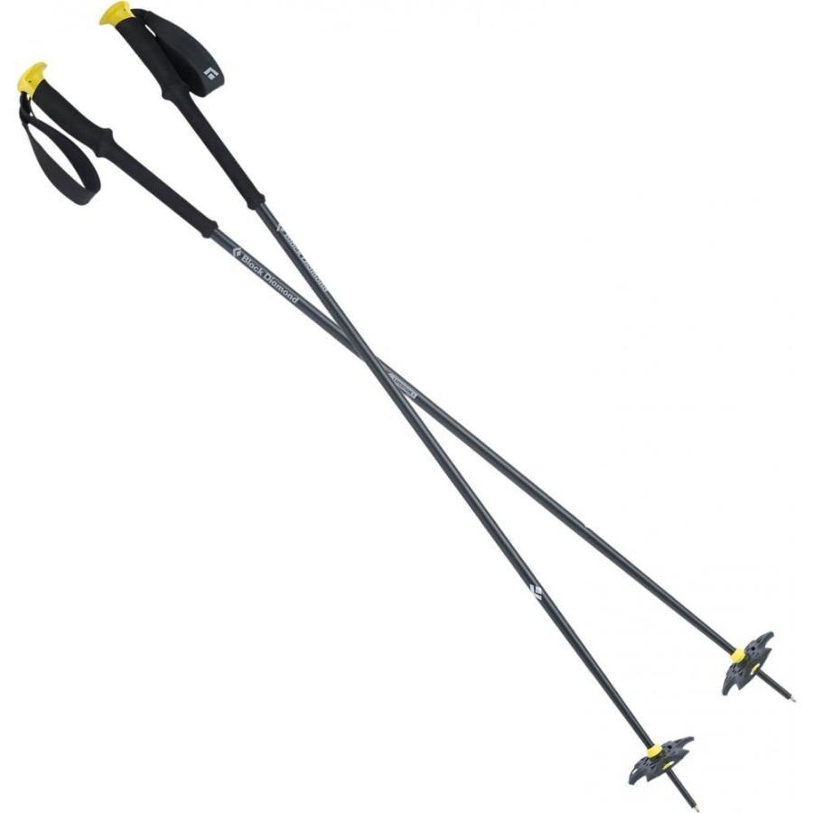 ブラックダイヤモンド イクイップメント 黒 Diamond Equipment ユニセックス スキー・スノーボード Expedition 1 Fixed Fixed Fixed Length Ski Poles Blazing 黄 1f2
