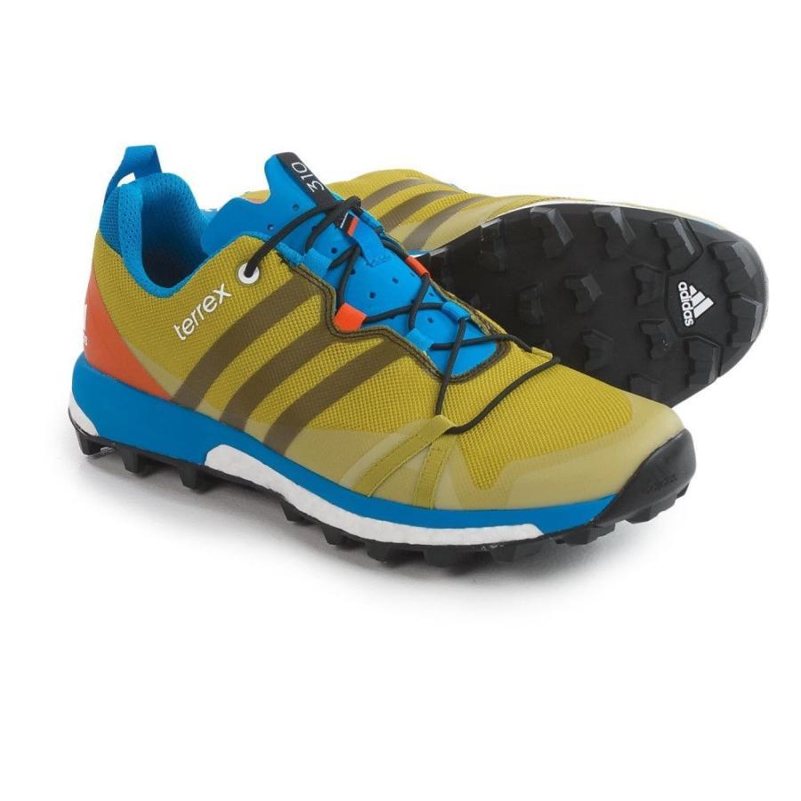 アディダス メンズ シューズ・靴 ハイキング・登山 Terrex Agravic Trail Running Shoes Bright Yellow/Black/Unity Lime
