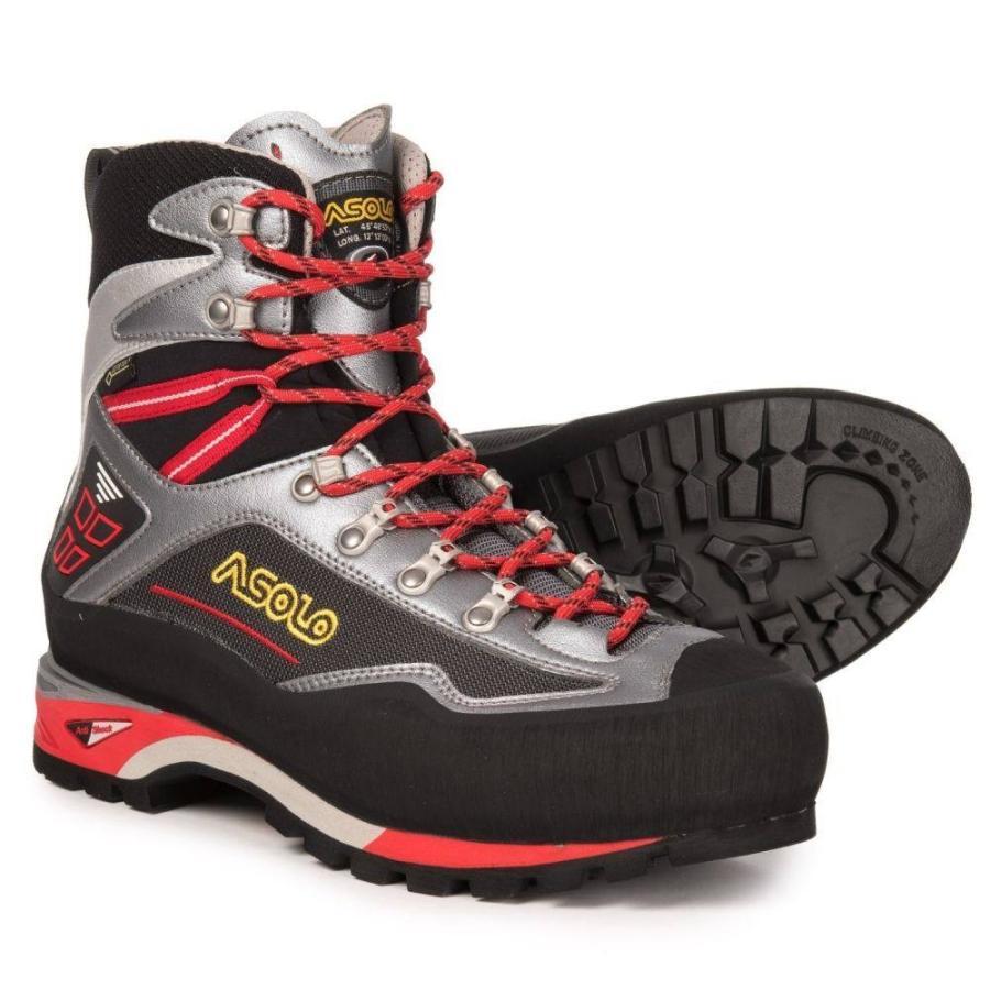 アゾロ Asolo メンズ ハイキング・登山 登山靴 シューズ・靴 Parete Nord GV Gore-Tex Mountaineering Boots - Waterproof Gunmetal/Grey