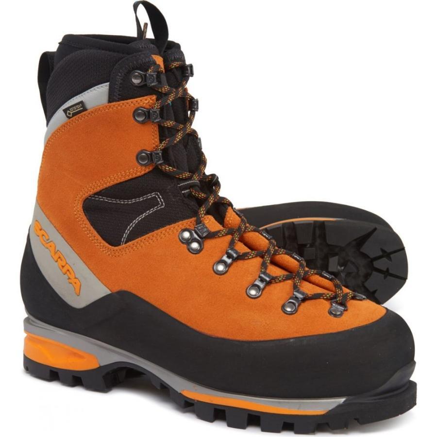 スカルパ Scarpa メンズ ハイキング・登山 登山靴 シューズ・靴 Made in Italy Mont Blanc Gore-Tex Mountaineering Boots - Waterproof, Insulated Mango