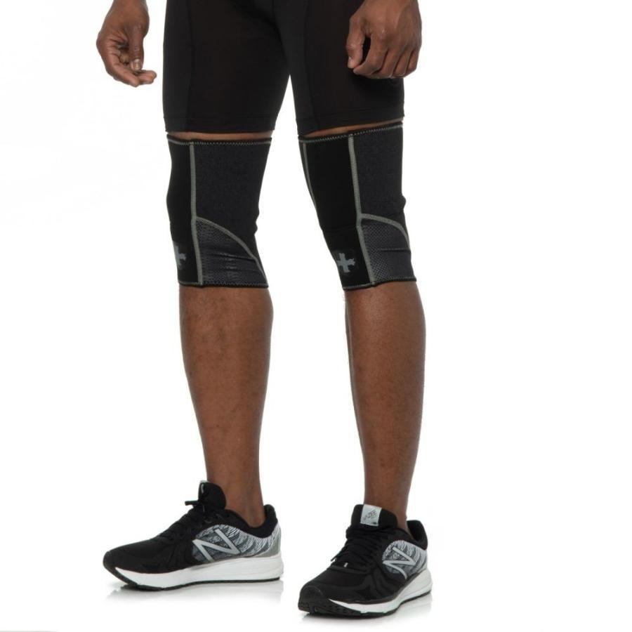 ハービンジャー Harbinger ユニセックス フィットネス・トレーニング 2点セット サポーター Stabilizer Knee Sleeves - 2-Pack 黒