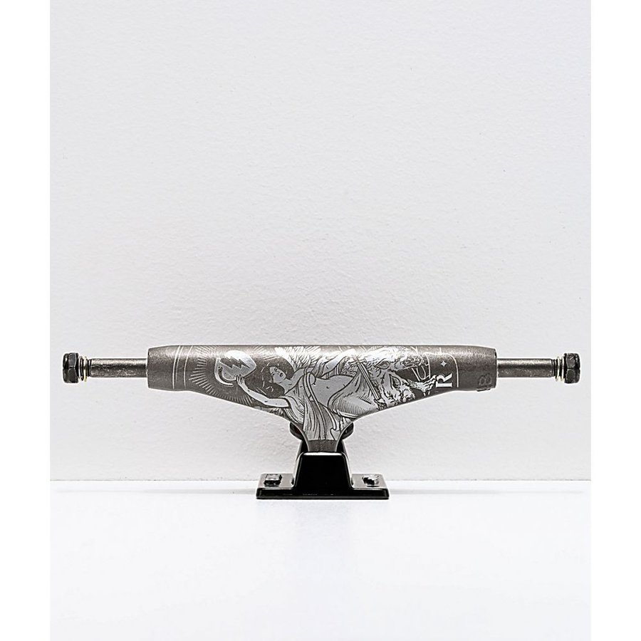 サンダー THUNDER ユニセックス スケートボード トラック tempest matte gunmetal 148 hollow light skateboard truck Assorted