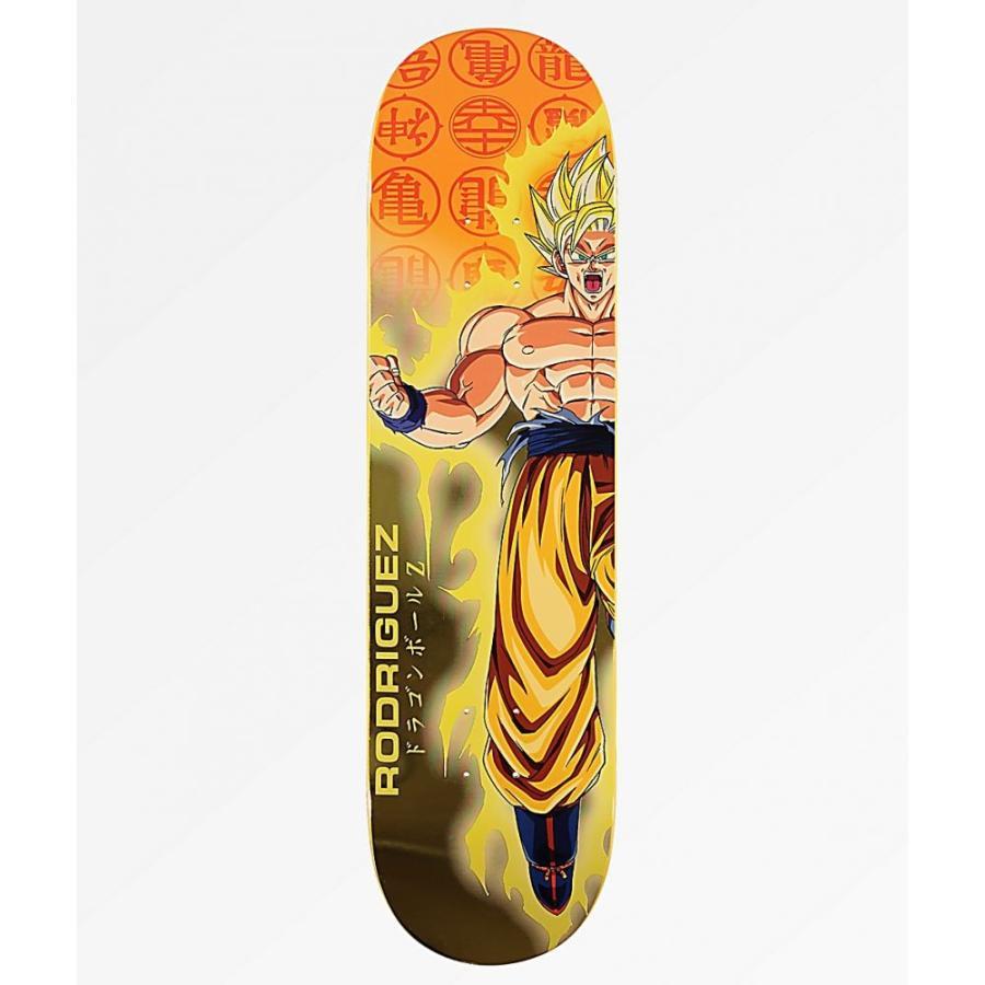 プリミティブ PRIMITIVE ユニセックス ボード・板 スケートボード Primitive x Dragon Ball Z Rodriguez Goku Power Up 8.25