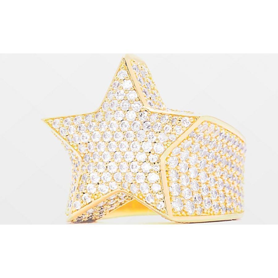 超歓迎された ザゴールドゴッズ THE GOLD Ring GODS メンズ Gold 指輪・リング ジュエリー・アクセサリー Diamond The Gold Gods Diamond Star Gold Ring Gold, いわきチョコレート:df9ca89e --- airmodconsu.dominiotemporario.com